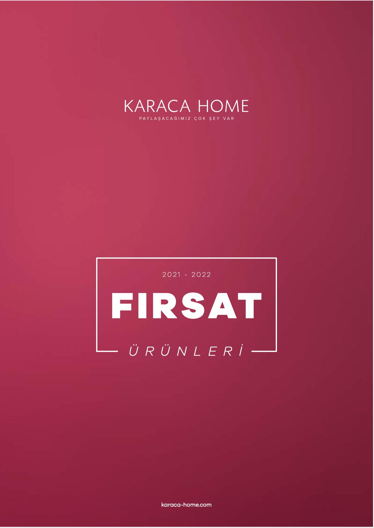 Karaca Home Fırsat Ürünleri 2021