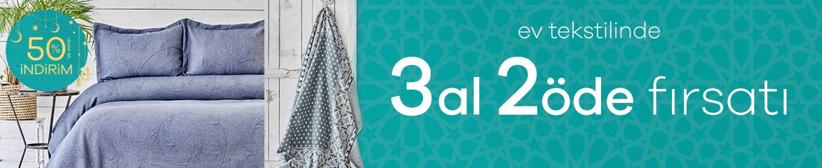 Ev Tekstilinde 3 Al 2 Öde