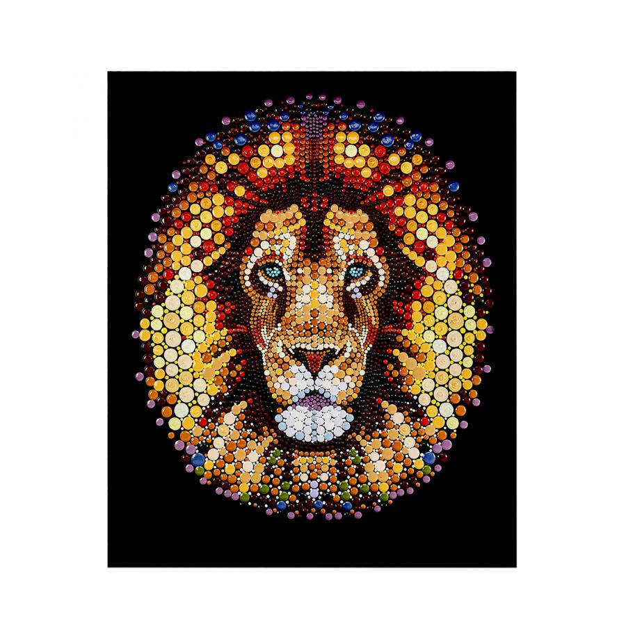 Karaca Home Lion Yagli Boya Tablo Karaca