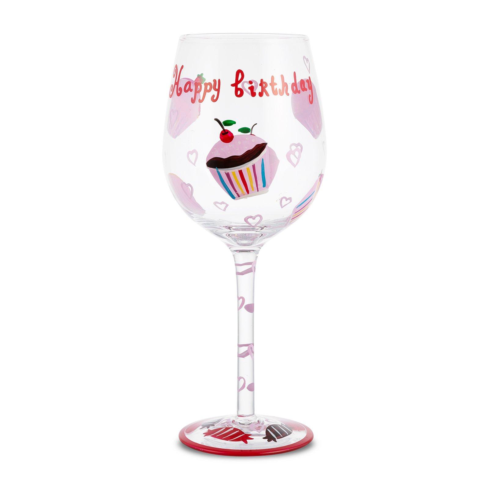 Karaca şarap Bardak El Boyama 120948b Karaca